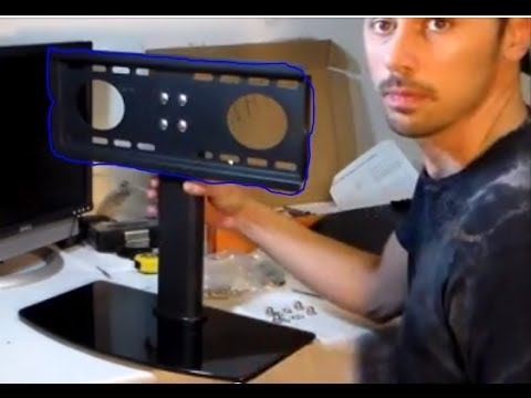 Impressive Latest Emerson TV Stands Throughout How To Setup Any Flatscreen Tv On Stand Review Youtube (Image 20 of 50)