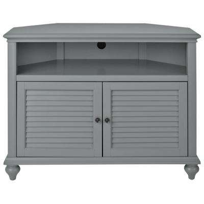 Impressive Latest Grey TV Stands Pertaining To Gray Tv Stands Living Room Furniture The Home Depot (Image 31 of 50)