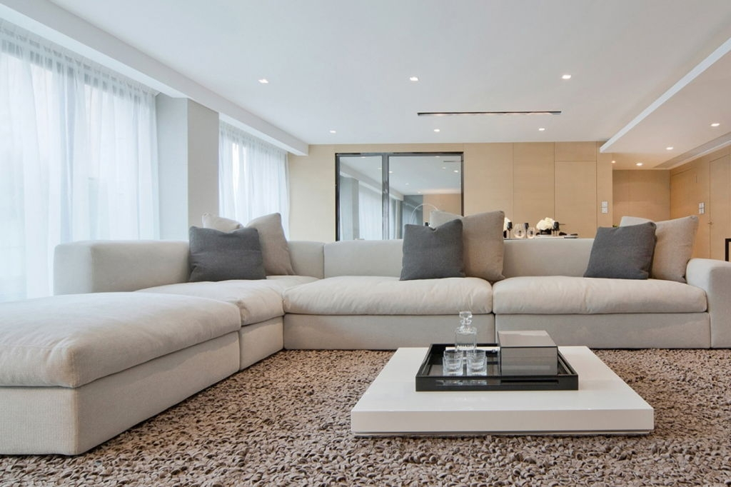 Impressive Latest Large Low White Coffee Tables With Regard To Modern White Coffee Table (View 5 of 50)