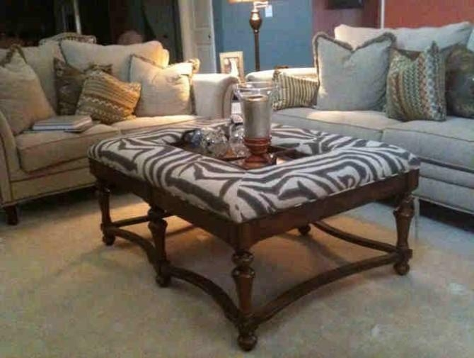 Impressive Latest Leopard Ottoman Coffee Tables With Regard To Animal Print Ottoman Coffee Table See Here Coffee Tables Ideas (View 15 of 40)
