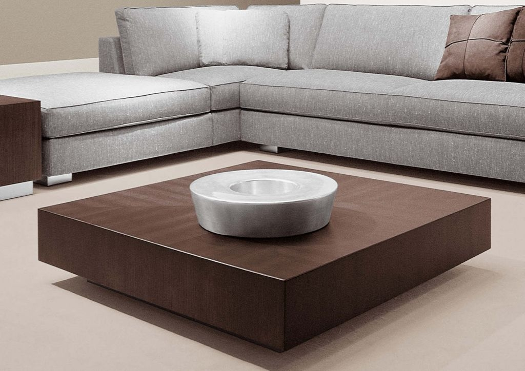Impressive Latest Square Dark Wood Coffee Tables Throughout Acceptable Low Wood Coffee Table (Image 26 of 50)