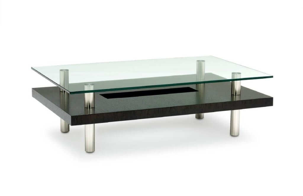 Impressive Latest Transparent Glass Coffee Tables Within Furniture Unbelievable Chromed Steel Small Coffee Tables Clear (Image 24 of 50)