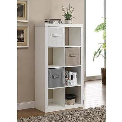 Impressive Latest TV Stands With Baskets Pertaining To Organizer 8 Cube Storage Book Shelves Eight Square Tv Stand Toy (Image 31 of 50)