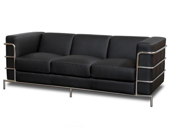 Impressive Modern Black Sofas Fresh Black Modern Couch 80 On Throughout Black Modern Couches (Image 9 of 20)
