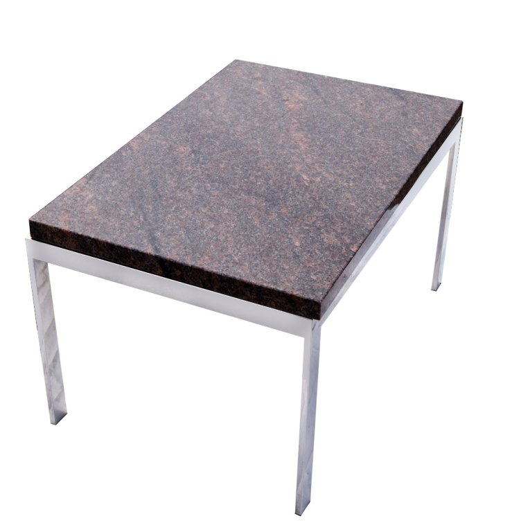Impressive New Chrome Coffee Tables For Rectangular Granite And Chrome Coffee Table For Sale At 1stdibs (Image 25 of 50)