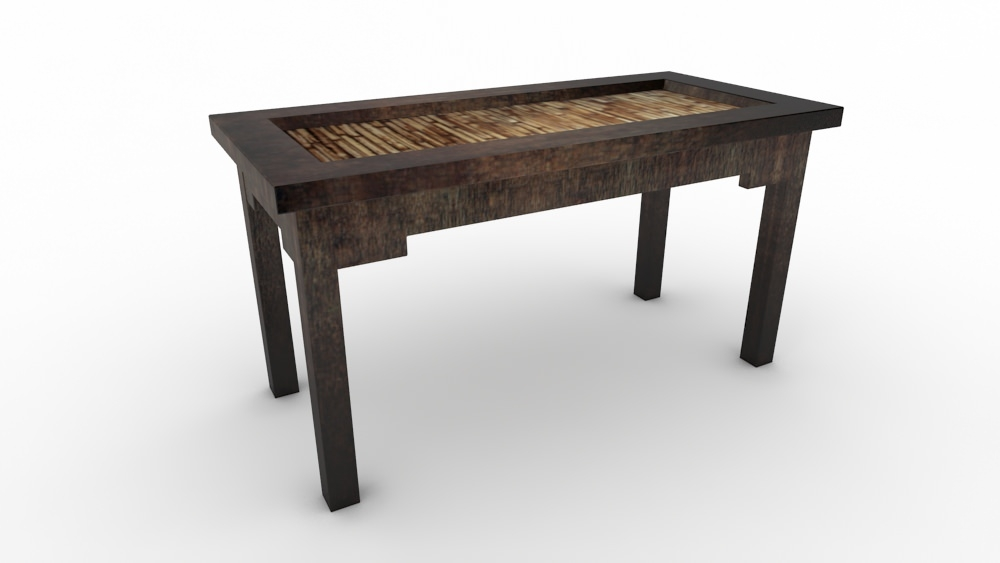 Impressive New Ethnic Coffee Tables Within Ethnic Coffee Table Free 3d Model Max (Image 19 of 50)