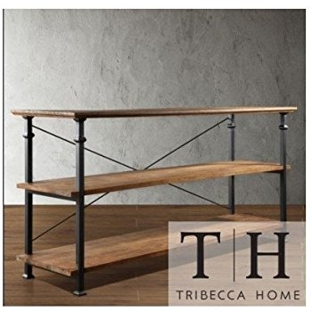 Impressive New Industrial TV Stands In Amazon Tribecca Home Industrial Tv Stand This Stylish (Image 29 of 50)