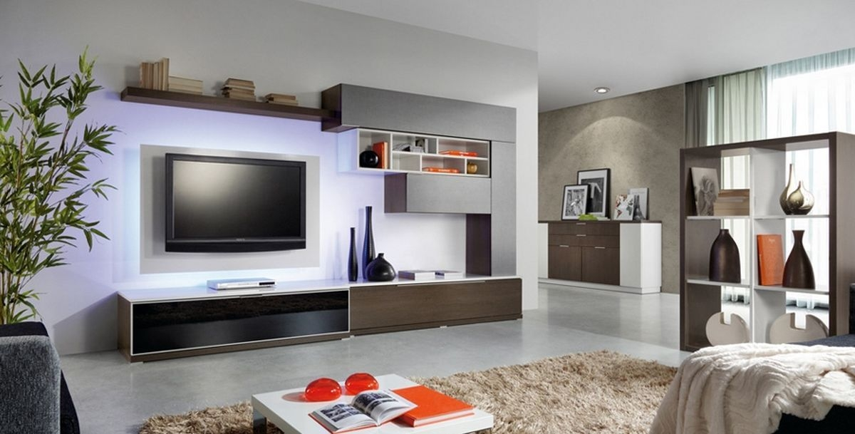 Impressive New Led TV Cabinets Inside Interior Design Ideas For Led Tv (Image 28 of 50)