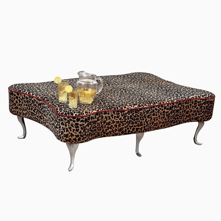 Impressive New Leopard Ottoman Coffee Tables Pertaining To Best 20 Ottoman Coffee Tables Ideas On Pinterest Tufted Ottoman (View 21 of 40)