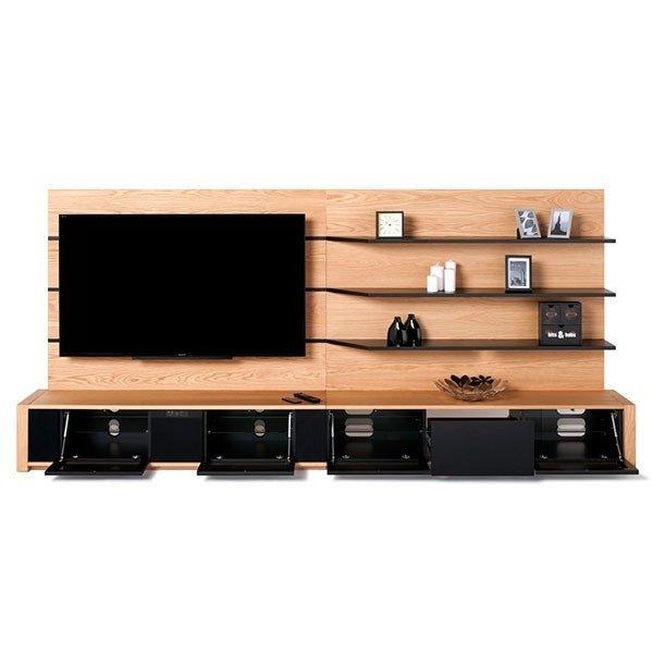 Impressive New Light Oak TV Cabinets Intended For Techlink M Series Base Unit Tv Cabinet In Light Oak M2lo (Image 27 of 50)