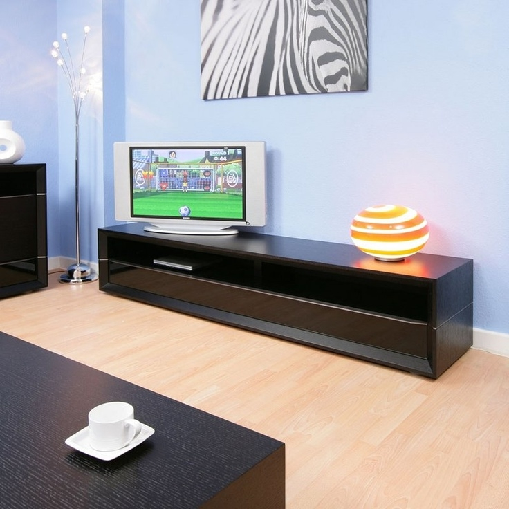 Impressive New Long Black TV Stands With 14 Best Av Images On Pinterest Tv Stands Tv Cabinets And Tv Units (View 4 of 50)