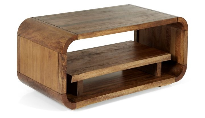 Impressive New Mango Wood Coffee Tables Inside Mango Lounge Solid Mango Wood Coffee Table With Drawer Scs (Image 23 of 50)