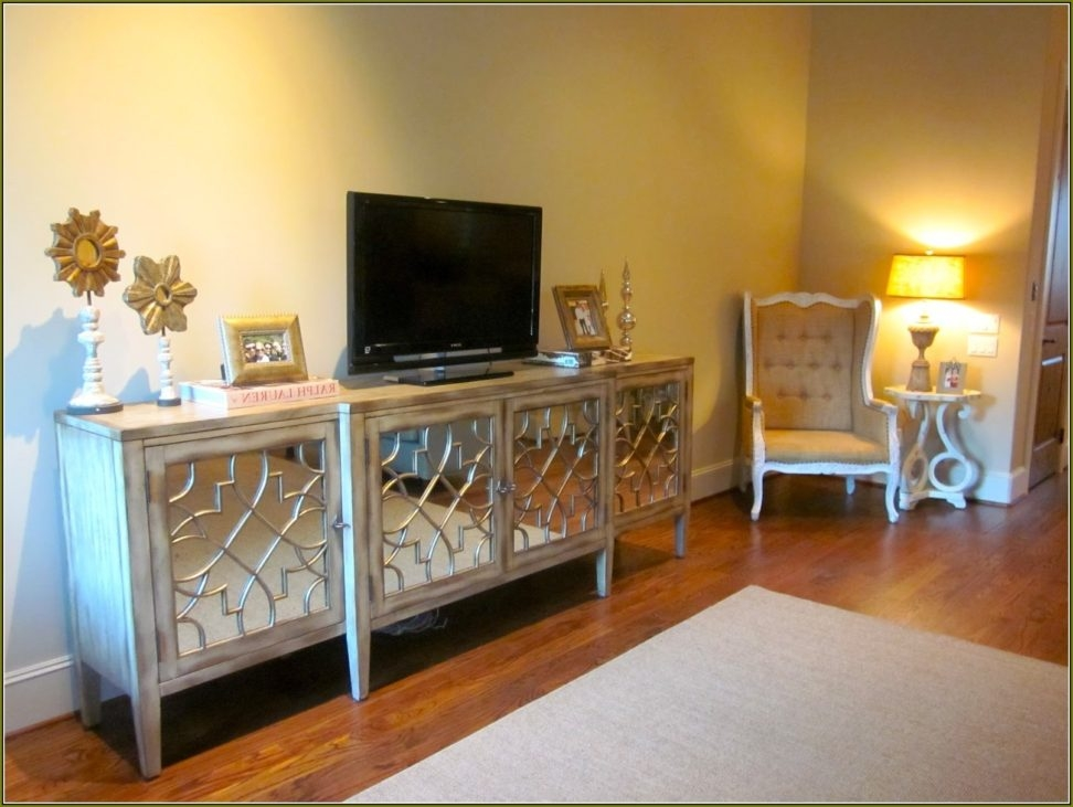 Impressive New Mirrored TV Cabinets With Mirrored Tv Cabinet Furnitures Venetian Plain Mirrored Corner Tv (View 46 of 50)