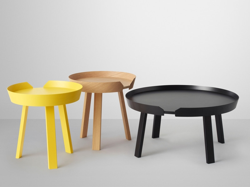 Impressive New Nest Coffee Tables For Buy The Muuto Around Coffee Table At Nestcouk (Image 24 of 50)