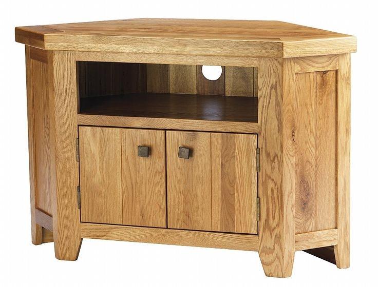 Impressive New Oak Corner TV Cabinets With Regard To 82 Best Tv Stands Images On Pinterest Corner Tv Stands Corner (Image 24 of 50)
