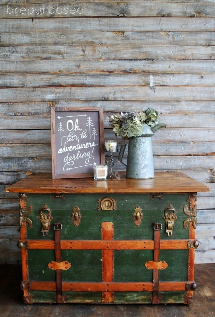 Impressive New Old Trunks As Coffee Tables Inside 24 Best Mrkateinspo Old Trunks Images On Pinterest (Image 28 of 50)