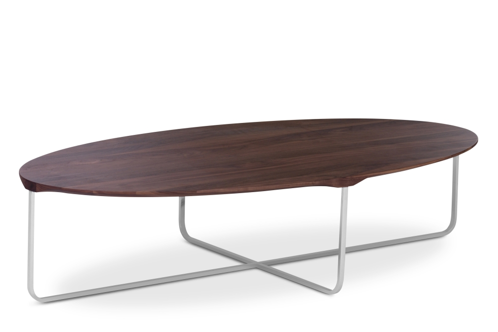 Impressive New Oval Walnut Coffee Tables Regarding Oval Walnut Coffee Table Idi Design (Image 28 of 50)
