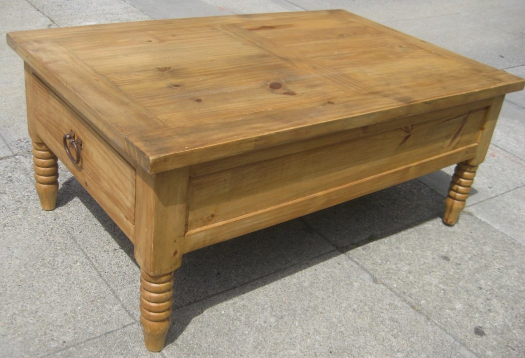 Impressive New Pine Coffee Tables With Storage Pertaining To Square Pine Coffee Table Coffee Tables Thippo (Image 28 of 50)
