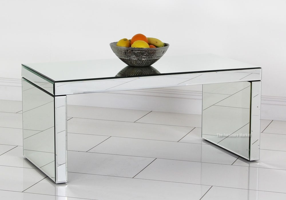 Impressive New Small Mirrored Coffee Tables Regarding Mirrored Coffee Table Design Images Photos Pictures (View 48 of 50)