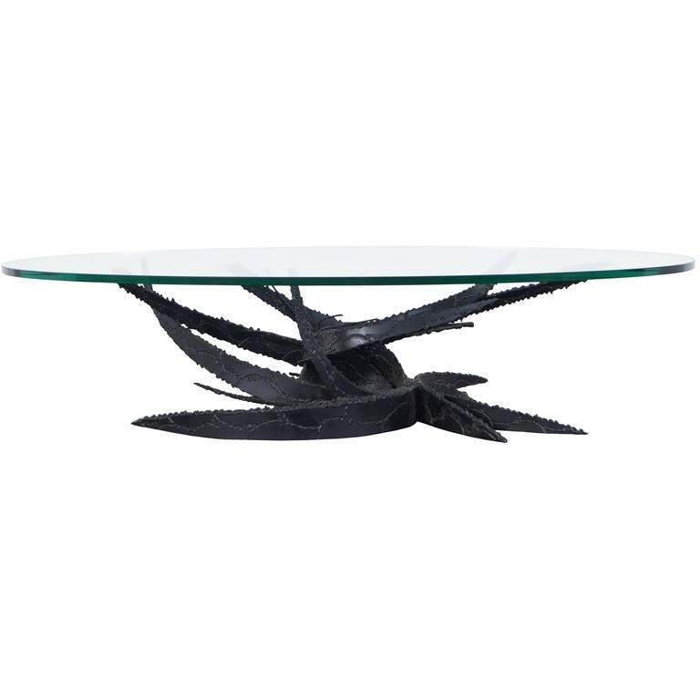 Impressive New Swirl Glass Coffee Tables Within Vintage Swirl Glass Coffee Table Daniel Gluck For Sale At 1stdibs (Image 29 of 50)