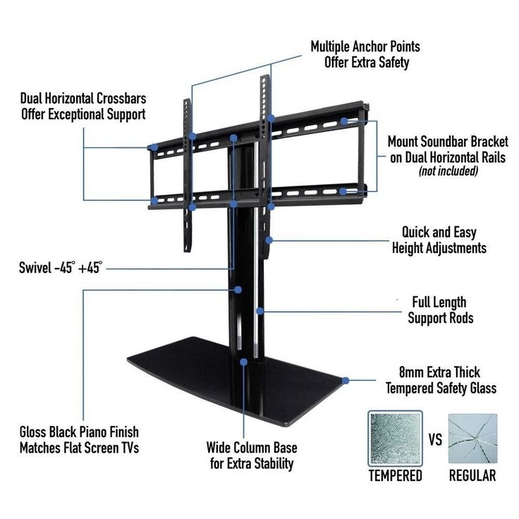 Impressive New Vizio 24 Inch TV Stands Inside Best 25 Universal Tv Stand Ideas Only On Pinterest Corner (Image 26 of 50)