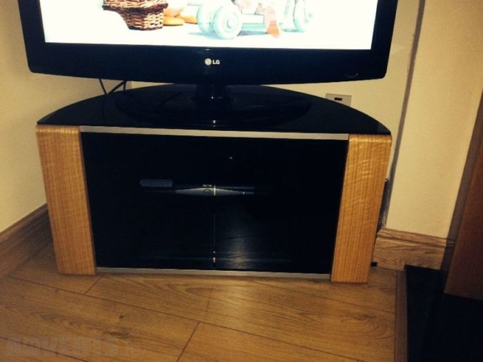 Impressive Popular Beam Through TV Stands Inside Beam Thru Curved Tv Stand For Sale In Blanchardstown Dublin From (Image 30 of 50)
