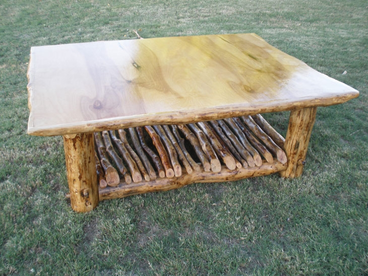 Impressive Popular Birch Coffee Tables With Regard To Living Room Log Furniture Phoenix Az (Image 29 of 50)