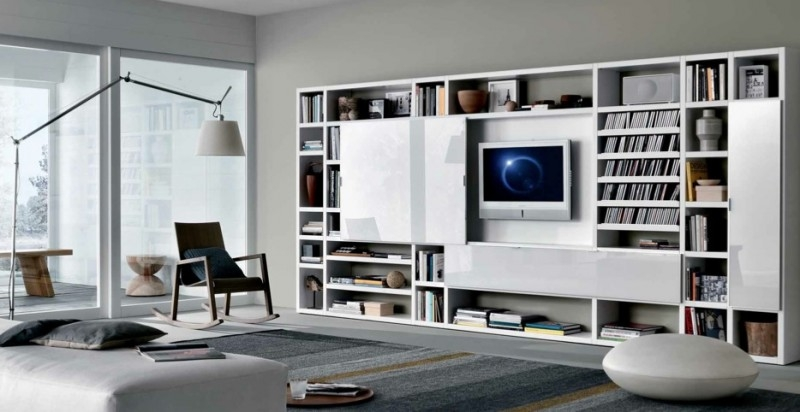 Impressive Popular Bookshelf And TV Stands For Tv Stands Outstanding Modern Bookcase Tv Stand Combo Photo (Image 22 of 50)