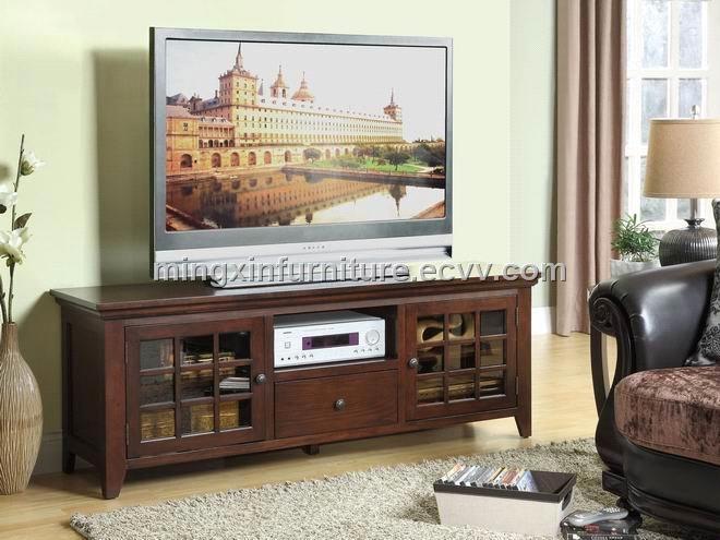 Impressive Popular Classic TV Stands In 2 Glass Doors With Oak Veneer In Espresso Effect Tv Stand (Image 26 of 50)
