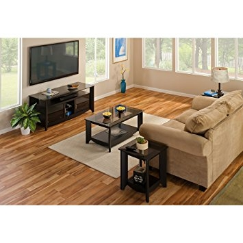 Impressive Popular Coffee Tables And Tv Stands Regarding Amazon Aero 56 Inch Tv Stand And Coffee Table With End Tables (Image 25 of 50)