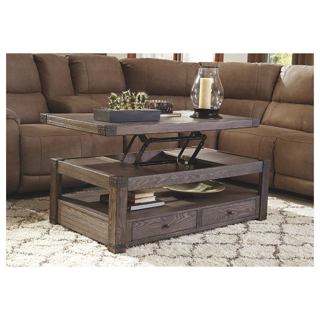 Impressive Popular Coffee Tables With Lifting Top For Loon Peak Bryan Coffee Table With Lift Top Reviews Wayfair Supply (View 13 of 50)