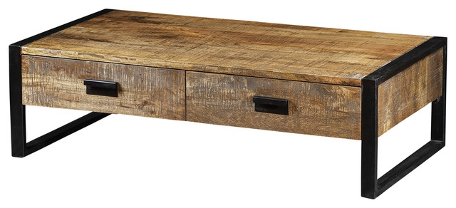 Impressive Popular Dark Mango Coffee Tables With Mango Wood Coffee Table (Image 21 of 40)