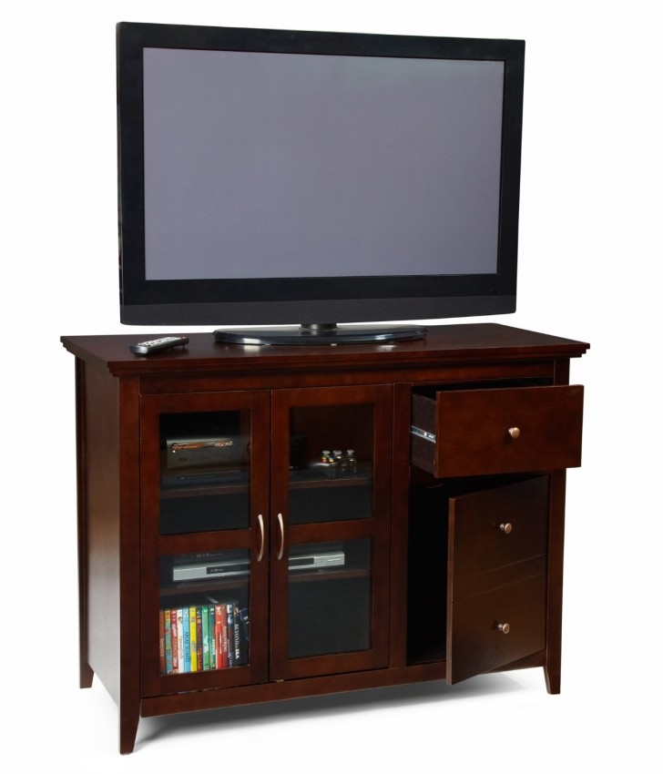 Impressive Popular Enclosed TV Cabinets With Doors In Rustic Enclosed Tv Cabinets For Flat Screens With Doors From White (Image 24 of 50)