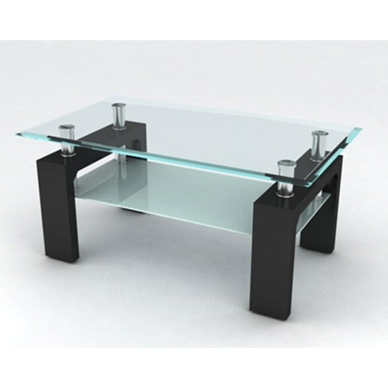 Impressive Popular Glass And Black Coffee Tables In Coffee Table Glass Top Coffee Table Astounding In Your Livingroom (View 32 of 50)