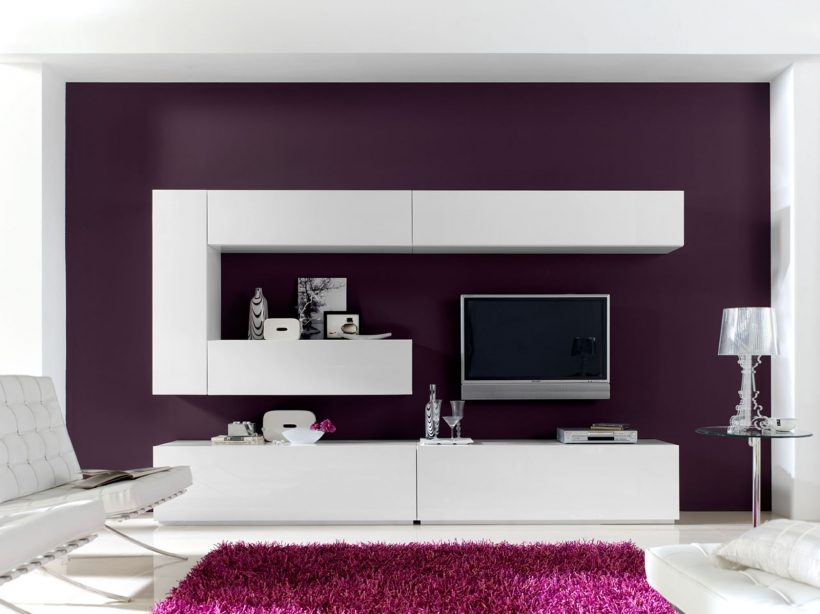 Impressive Popular Glass TV Cabinets Intended For Living Room Overwhelming Wall Units In White Tone With Bold (Image 31 of 50)