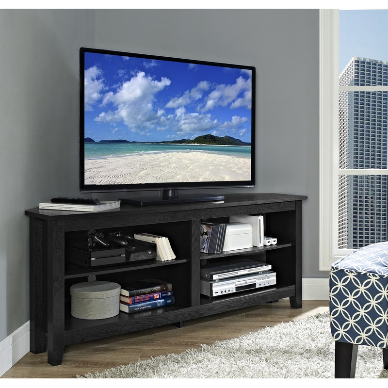 Impressive Popular Grey Corner TV Stands Regarding Tv Stands Brandnew Target 60 Inch Tv Stands Stylish Design (View 17 of 50)