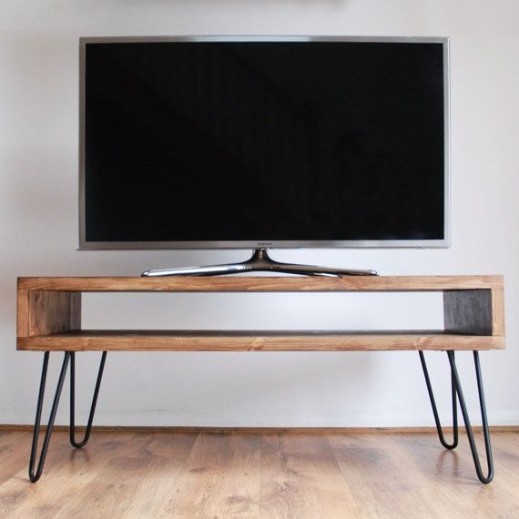 Impressive Popular Hairpin Leg TV Stands Throughout Best 25 Dark Wood Tv Stand Ideas On Pinterest Rustic Tv Stands (Image 26 of 50)