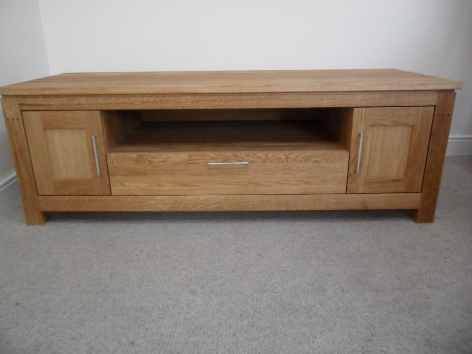 Impressive Popular Large Oak TV Stands With Regard To Oak Coffee Table Solid Oak Coffee Tables Nest Of Tables (Image 25 of 50)