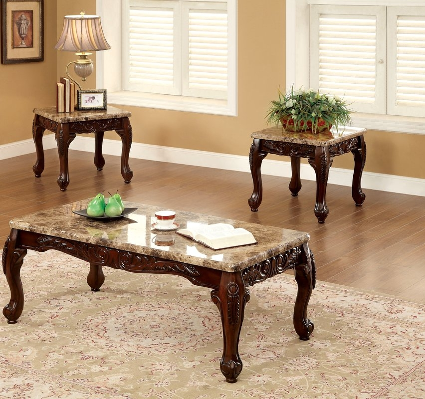 Impressive Popular Oak Coffee Table Sets Intended For Coffee Table Sets Youll Love Wayfair (Image 29 of 50)