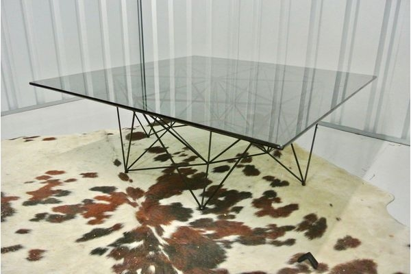Impressive Popular Retro Smoked Glass Coffee Tables With Regard To Mid Century Vintage Designer Antique Coffee Tables Vinterior (View 29 of 40)