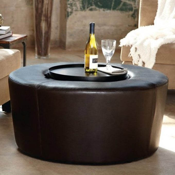 Impressive Popular Round Coffee Table Trays Intended For How To Decorate A Round Coffee Table Cool Small Sunroom (Image 31 of 50)