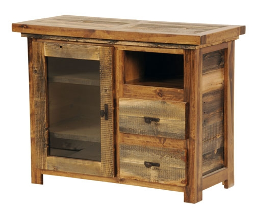 Impressive Popular Rustic Furniture TV Stands Inside Rustic Reclaimed Wood Furniture Sustainable Furniture (Image 28 of 50)