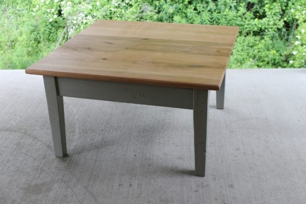Impressive Popular Square Oak Coffee Tables Throughout Farmhouse Coffee Tables (Image 25 of 50)