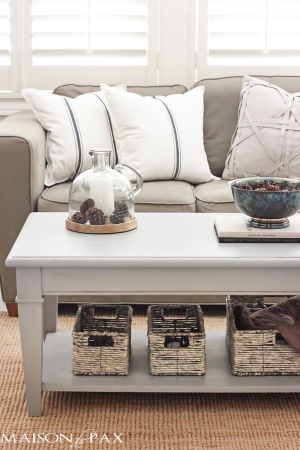 Impressive Preferred Beige Coffee Tables For Best 10 Painted Coffee Tables Ideas On Pinterest Farm Style (Image 25 of 40)