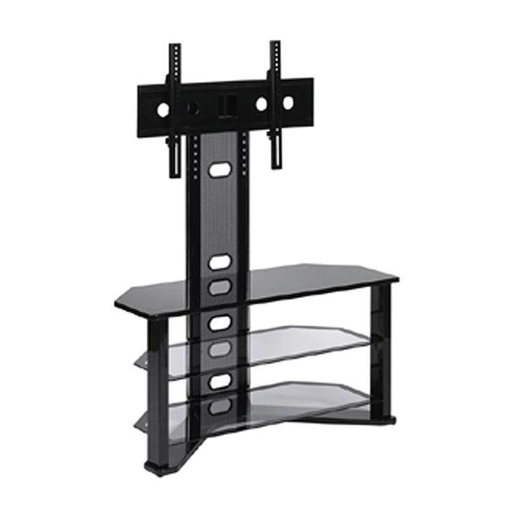 Impressive Preferred Black Corner TV Stands For TVs Up To 60 Regarding 37 Best Unique Tv Stand Images On Pinterest Tv Stands (View 27 of 50)