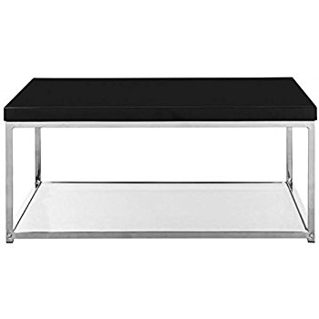 Impressive Preferred Chrome Coffee Tables For Amazon Safavieh Malone Chrome High Gloss Coffee Table (Image 26 of 50)