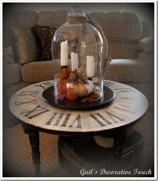 Impressive Preferred Coffee Tables With Clock Top Inside 82 Best Coffee Table Clock Images On Pinterest Clock Table (Image 26 of 40)
