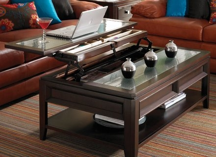 Impressive Preferred Glass Lift Top Coffee Tables Pertaining To Glass Lift Top Coffee Table For New Room Decoration Coffe Table (Image 24 of 40)