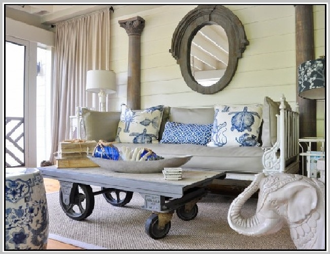 Impressive Preferred Rustic Coffee Table With Wheels With Rustic Coffee Table With Wheels Home Design Ideas (Image 25 of 50)