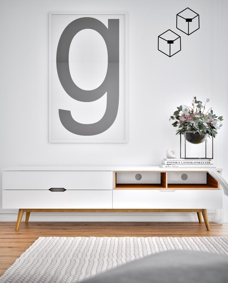 Impressive Preferred Scandinavian Design TV Cabinets Within Best 25 Scandinavian Media Cabinets Ideas On Pinterest Floating (View 29 of 50)